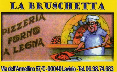 Biglietto da visita - La Bruschetta