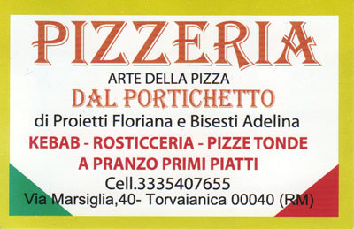 Biglietto da visita - Dal Portichetto