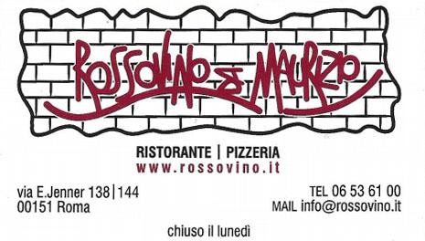 Biglietto da visita - Rossovino Da Maurizio